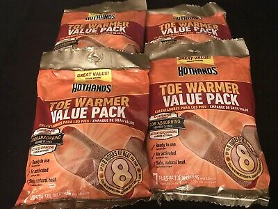 HotHands Toe Warmer Value Pack - 28 Pair Of Toe Warmers - Odor Absorbing