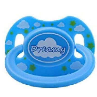 "Baby Bear Pacis Blue Printed ""Dreamy"" Adult Pacifier (LittleForBig Bigshield Gen"