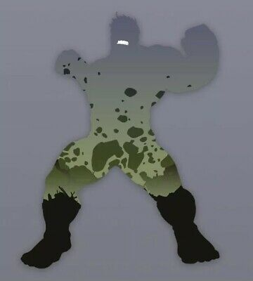 TOPPS MARVEL COLLECT CARD TRADER Heroic Silhouettes Hulk DIE-CUT Digital