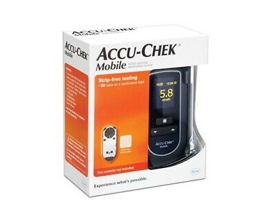 Accu-Chek Mobile Blood Glucose Meter free psotage