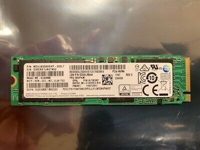 SAMSUNG PM961 256GB M 2 NVMe-PCIe SSD, OEM Solid State Drive