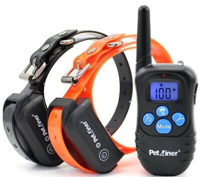 Petrainer  Rechargeable & Waterproof Training Collar- 2 Dog System