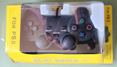 Sony PlayStation PS2: Dual Shock II Analogue Controller [Brand New & Sealed]