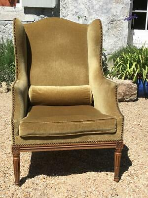 French Antique Chair Armchair