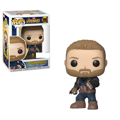 AVENGERS - CAPTAIN AMERICA #299 Exclusive Funko Pop Vinyl Figure *NEW* RARE sale