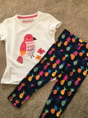 Girls Debenhams Bluezoo Outfit Age 2-3 Cats
