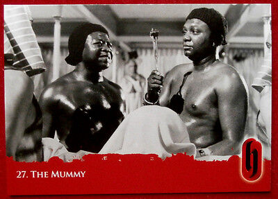 HAMMER HORROR - Series Two - Card #27 - The Mummy - Strictly Ink 2010
