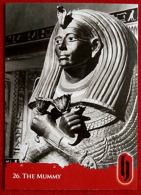 HAMMER HORROR - Series Two - Card #26 - The Mummy - Strictly Ink 2010