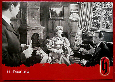 HAMMER HORROR - Series Two - Card #11 - Dracula - Strictly Ink