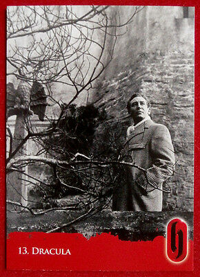 HAMMER HORROR - Series Two - Card #13 - Dracula - Strictly Ink 2010