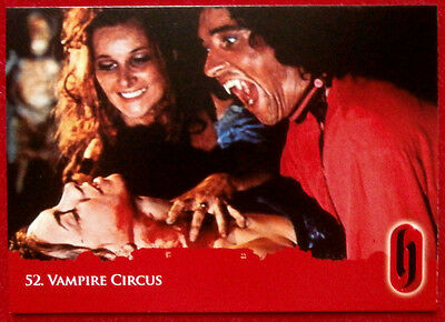 HAMMER HORROR - Series Two - Card #52 - VAMPIRE CIRCUS - Strictly Ink 2010