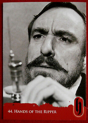 HAMMER HORROR - Series Two - Card #44 - HANDS OF THE RIPPER - Strictly Ink 2010