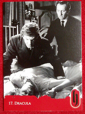 HAMMER HORROR - Series Two - Card #17 - Dracula - Strictly Ink 2010