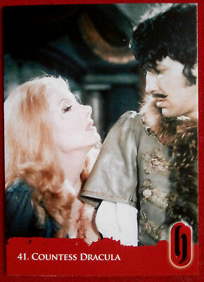 HAMMER HORROR - Series Two - Card #41 - COUNTESS DRACULA - Strictly Ink 2010