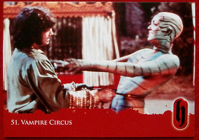 HAMMER HORROR - Series Two - VAMPIRE CIRCUS - Card #51 - Strictly Ink 2010