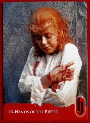 HAMMER HORROR - Series Two - Card #43 - HANDS OF THE RIPPER - Strictly Ink 2010