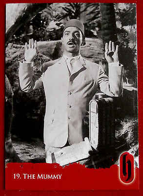 HAMMER HORROR - Series Two - Card #19 - The Mummy - Strictly Ink 2010