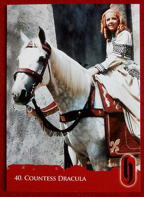 HAMMER HORROR - Series Two - Card #40 - COUNTESS DRACULA - Strictly Ink 2010