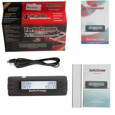 TurboGauge IV Auto Computer Scan Tool Digital Gauge 4 in 1  OBD2/EOBD Diagnostic