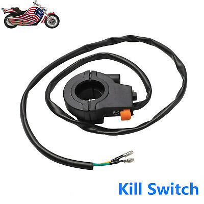 Stop Kill Switch Handle Throttle Housing Scooter Goped Gas Motorized Pocket Bike