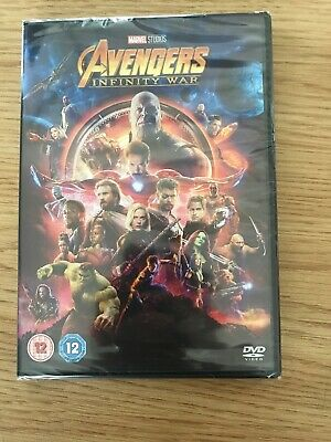 Avengers infinity War DVD Brand New And Sealed