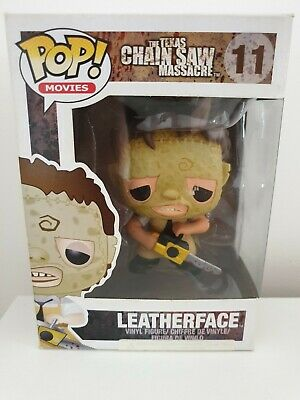 Funko Pop Vinyl Leatherface #11 Texas Chainsaw Massacre