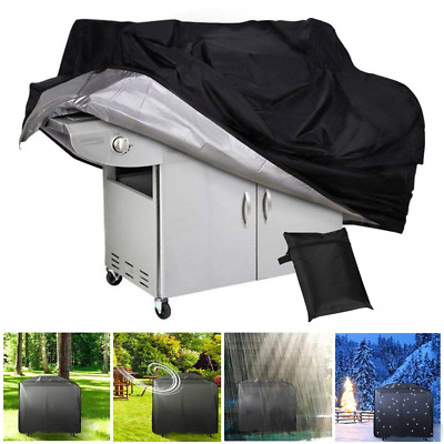 BBQ Gas Grill Cover Heavy Duty Waterproof Outdoor Heavy Duty BBQ Barbecue Cover