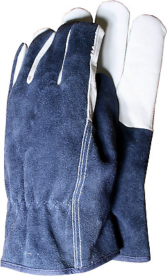 Town & Country TGL418L Deluxe Premium Leather & Suede Mens Gloves Large