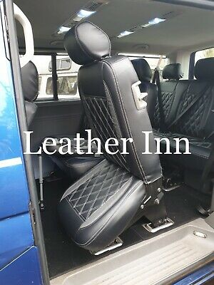 Vw Transporter T5 Seat Covers 6 Seater 1+2 front row And 1+2 Second Row