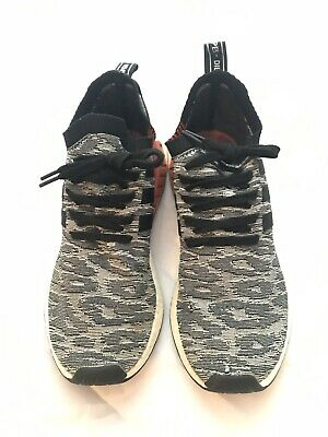 ADIDAS NMD_R2 PRIMEKNIT Men's Shoes Core Black Running White