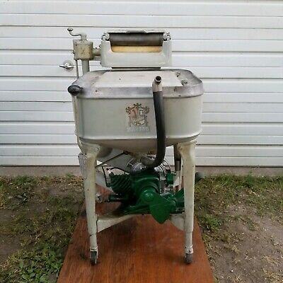 Maytag Gas Power Ringer Washing Machine Washer Cast MODEL 92 ENGINE Runs & Works