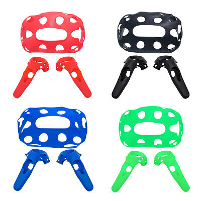VR Silicone Case Helmet Protective Cover for HTC Vive Pro Headset / Controller
