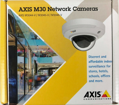 0802-001 Axis M3044-V Fixed Dome Network Cam