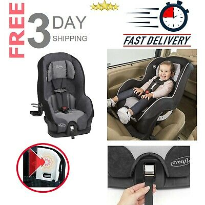 Baby Car Seat Convertible Highback Booster Toddler Safety Travel Saturn Black