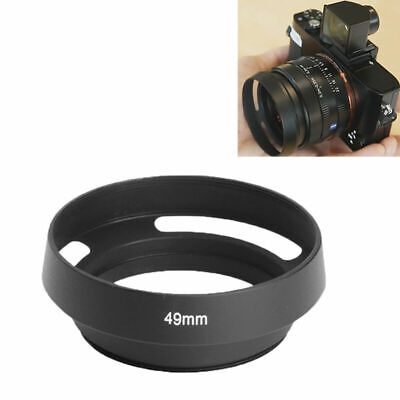 Happyshopping Lens Hood 40.5mm Metal Vented Lens Hood for Leica ,Fits for Leica 40.5mm Lens and Any Standard Lens with 40.5mm Filter Size Black