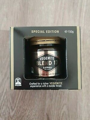 Vegemite Blend 17 special edition limited edition made in Port Melbourne sealed
