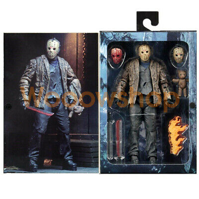 """New NECA Freddy vs Jason Friday the 13th 7"""" Ultimate Action Figure Collection"""