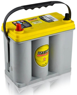 OPTIMA Yellow Top YTS-2.7JP 12V/38Ah 460A AGM Zyklenfest, SPIRALCELL TECHNOLOGIE
