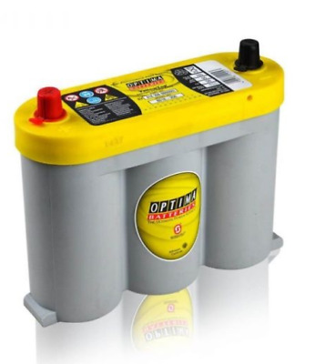 OPTIMA Yellow Top YT6V-2.1L 6V/55Ah 765A AGM Zyklenfest, SPIRALCELL TECHNOLOGIE