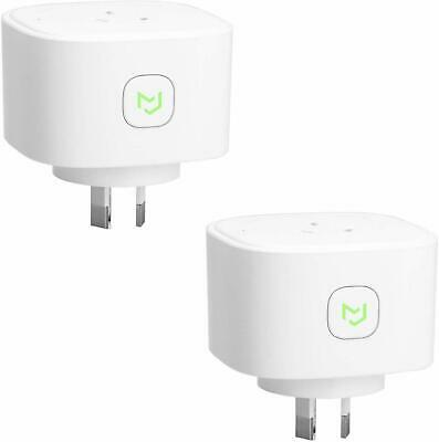 Wi-Fi Smart Plug 2 Pack with Energy Monitor App Remote Control iOS Android AU OZ