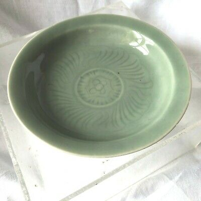 Coupelle Porcelaine Celadon  Chine 18 Eme Siecle