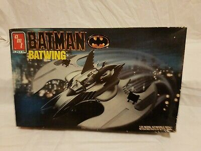 Batman Batwing Vehicle 1:25 Scale Model Kit AMT/ERTL 1990 Aus Seller