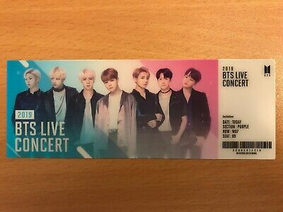 BTS Official World OST SoundTrack Lenticular Photo Ticket Only [No Album]