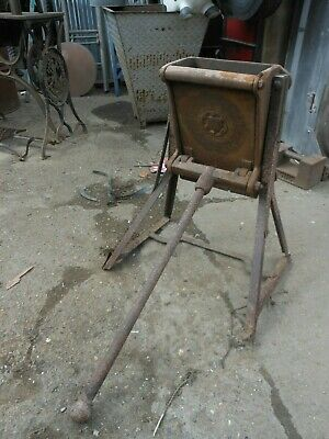 Antique PORTWAYS THOMAS O BRIEN  1893  Coke Crusher STEAM ENGINE