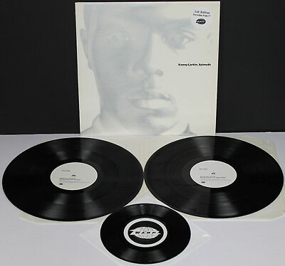 "KENNY LARKIN Azimuth orig ltd 2x LP + 7"" vinyl UK Warp 1994  EX cond"