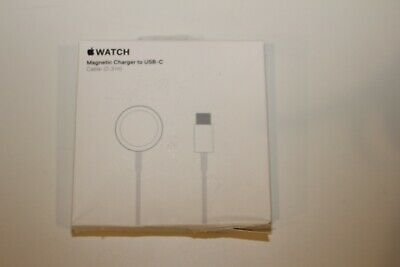 GENUINE Apple Watch Magnetic Charger to USB-C Cable (0.3 m) MU9K2AM/A OPEN BOX