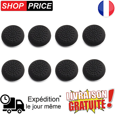 LOT 8 protections silicone pour joystick manette PS4 / PS3 / XBOX360 (NEUF)