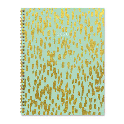 2020 Gold Strokes Large Weekly Monthly Planner