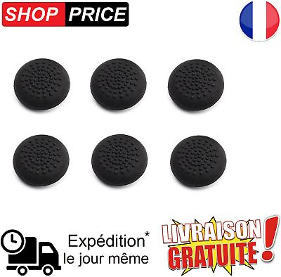 LOT 6 protections silicone pour joystick manette PS4 / PS3 / XBOX360 (NEUF)