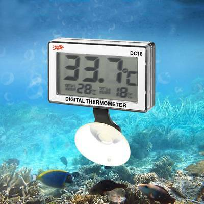 Digital  LCD Fish Aquarium Submersible Water Tank Temperature Thermometer TOP